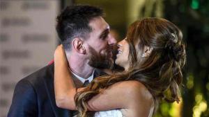 Messi y Antonela se casaron este verano