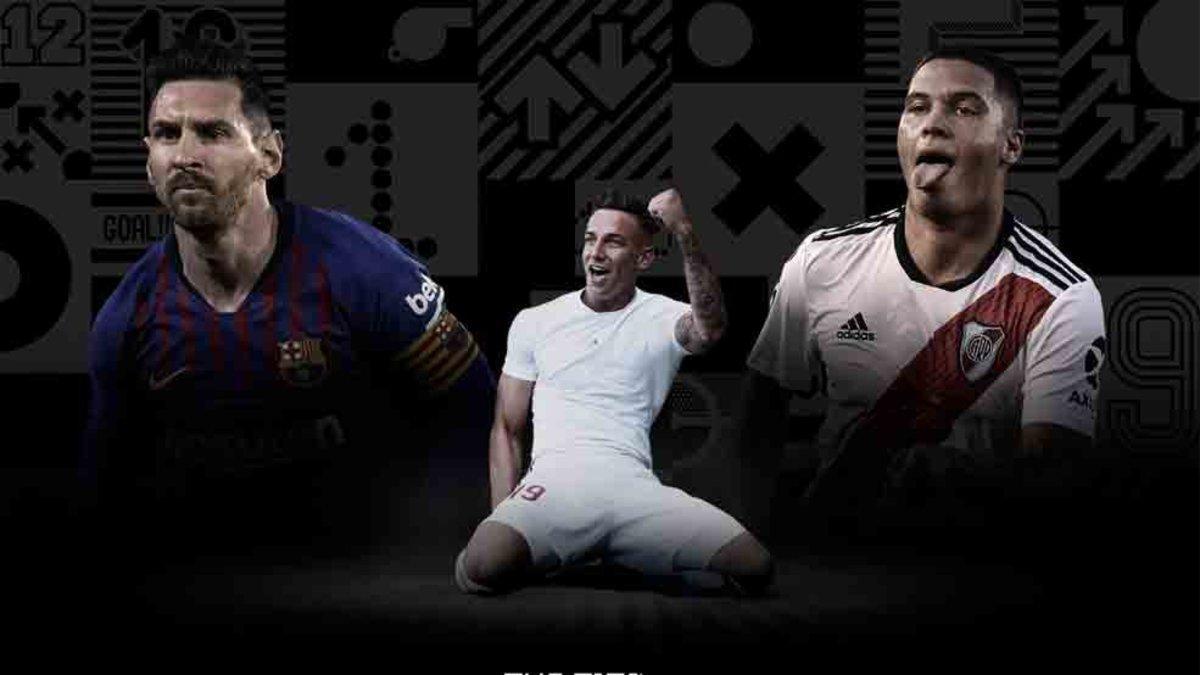 Messi está entre los finalistas al premio The Best 2019