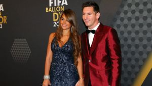 La felicitación más esperada: Antonela Roccuzzo y Leo Messi celebran San Valentín