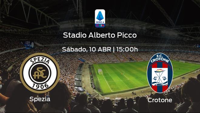 Previa del partido: el Spezia Calcio recibe al Crotone