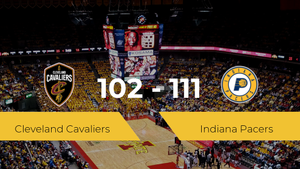 Indiana Pacers consigue derrotar a Cleveland Cavaliers (102-111)