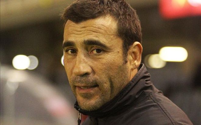 Raúl Agné, entrenador del Tenerife