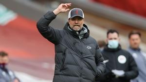Jürgen Klopp, durante un partido con el Liverpool
