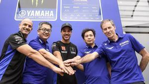 Morbidelli ha sellado su acuerdo con Yamaha en Misano