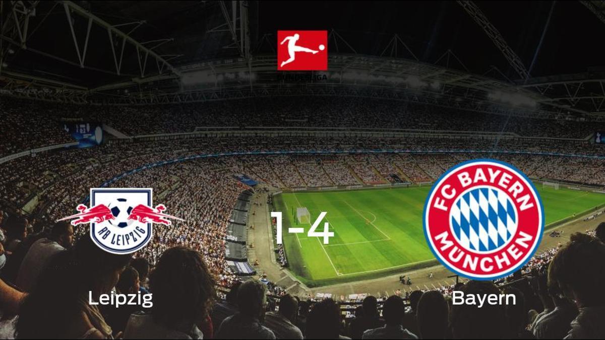El Bayern de Múnich le arrebata los tres puntos al RB Leipzig (1-4)