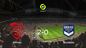 Triunfo del Olimpique de Nimes ante el FC Girondins Burdeos (2-0)