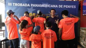 Juliano Belletti, miembro de la Agrupació de Jugadors, fue protagonista en la III Trobada Panamericana de Penyes