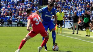 Imagen de archivo de Valery durante un partido de la temporada pasada