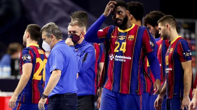 El Barça no encontró respuestas en la final frente al Kiel