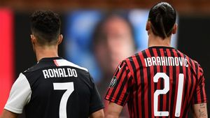 Cristiano Ronaldo y Zlatan Ibrahimovic, máximos goleadores de la Serie A