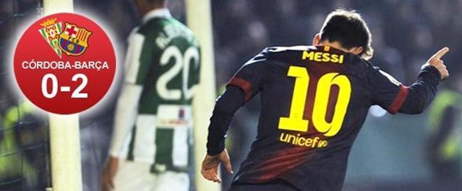 Messi volvió a brillar en la Copa