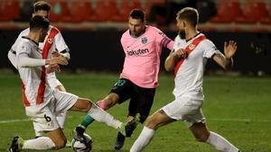 El discurso de Pedrerol a favor del partido de Messi en Vallecas