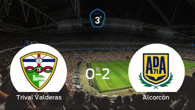 El Alcorcón B se lleva los tres puntos frente al Trival Valderas (0-2)