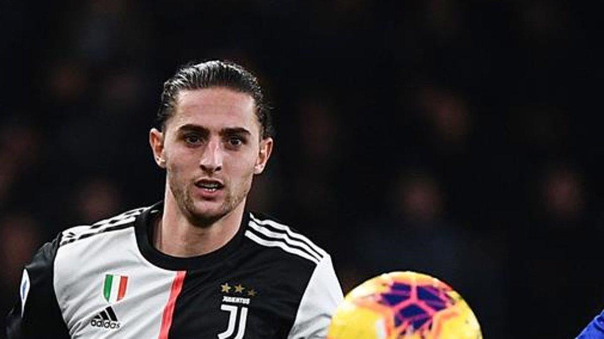 Rabiot, jugador de la Juventus
