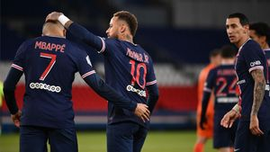 Mbappé y Neymar, protagonistas de la noche
