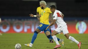 Neymar es la principal baza ofensiva de Brasil ante Perú