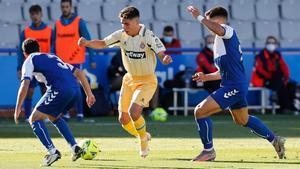 Melamed dio el triunfo al Espanyol en la primera vuelta