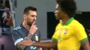 Tite: Messi me mandó callar