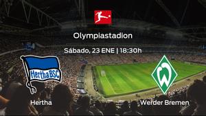 Previa del encuentro: el Hertha BSC recibe al Werder Bremen