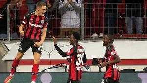 El Leverkusen se impone al Ferencvaros
