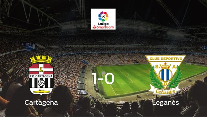 El Cartagena gana 1-0 en casa al Leganés