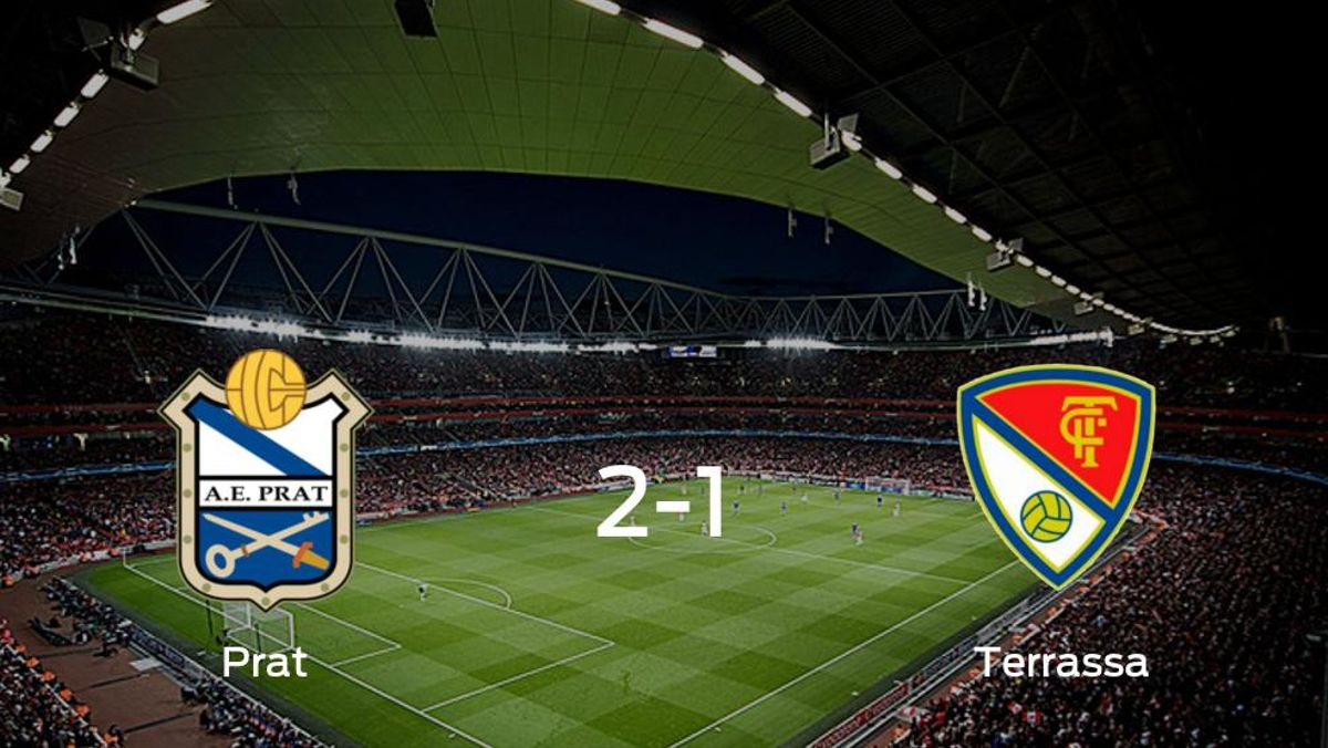 El Prat gana en casa al Terrassa por 2-1