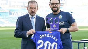 Ángel Torres y José Bordalás