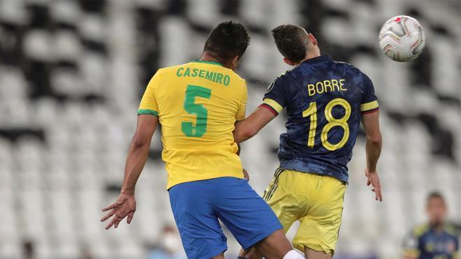 Casemiro dio el triunfo a Brasil con un gol en el descuento