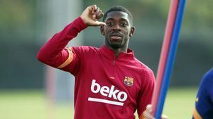 El Barça buscará en enero la salida de Dembélé