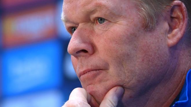 Koeman: No tengo miedo del Madrid