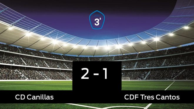 El Canillas derrotó al Tres Cantos por 2-1