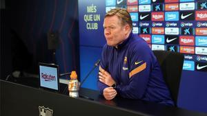 Koeman tras el Barça - PSG: Somos un equipo en transición