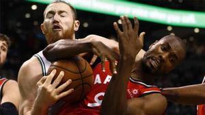 Los Toronto Raptors ganaron en la NBA