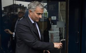 Jose Mourinho, mánager del Manchester United
