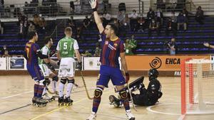 El Barça empató a dos ante el Liceo