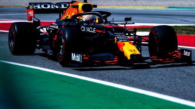 Max Verstappen, el más rápido en el tercer libre de GP de España