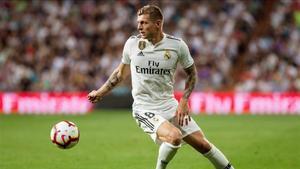 Toni Kroos, en un encuentro con el Real Madrid