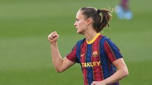 Caroline Graham Hansen renueva con el Barça