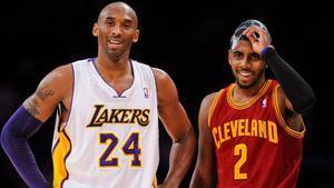 Irving quiere honrar la memoria de Kobe Bryant