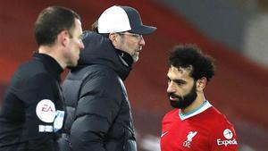 Klopp, sobre la sustitución de Salah: Tomo una decisión, los chicos la aceptan