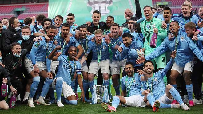 El camino del Manchester City hacia el título