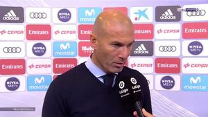 Zidane, hundido tras perder el clásico