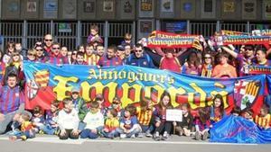 Una representación de la PB Almogàvers Empordà en el Camp Nou