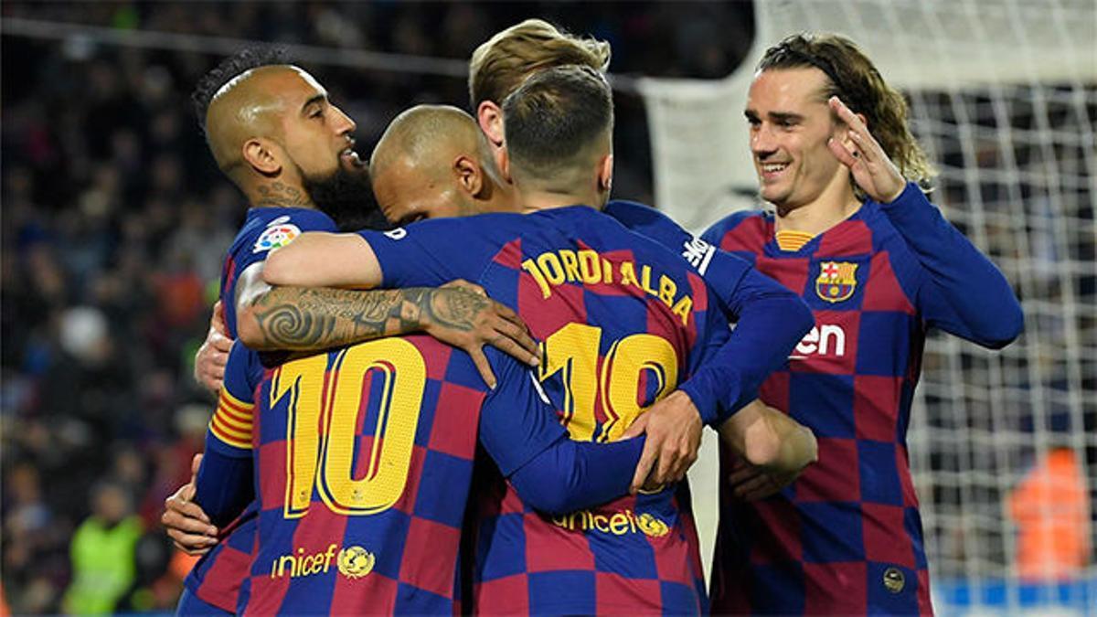 Sufrida victoria del Barça ante la Real Sociedad