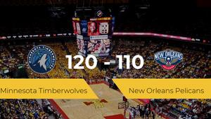Minnesota Timberwolves se hace con la victoria contra New Orleans Pelicans por 120-110