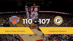 Triunfo de New York Knicks ante Indiana Pacers por 110-107