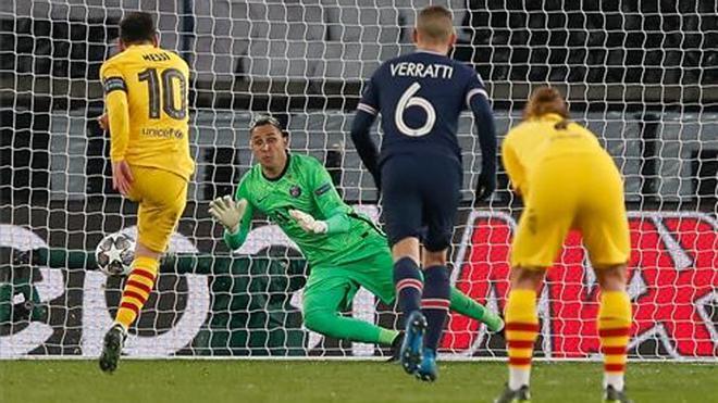 Así fue el partidazo de Keylor Navas ante el Barça: lo paró todo, incluido un penalti a Messi