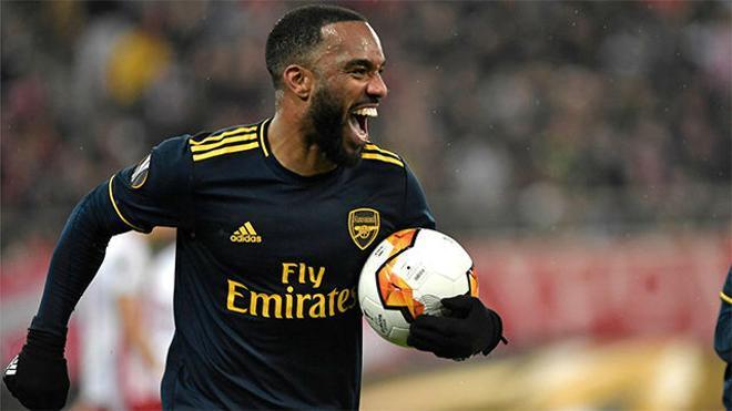 El gol de Lacazette que dio la victoria al Arsenal ante el Olympiakos