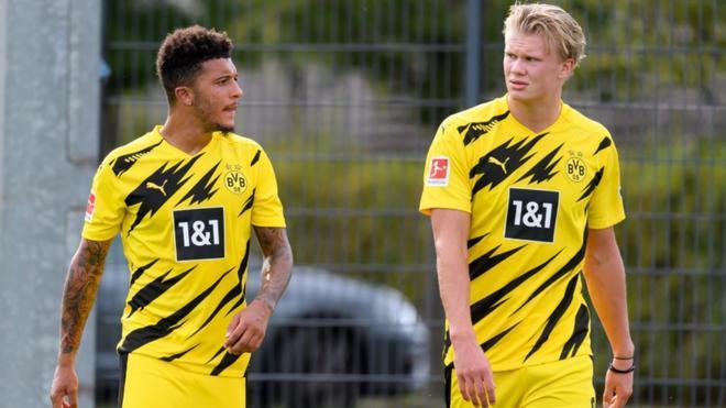 Haaland y Sancho dejarán de compartir equipo