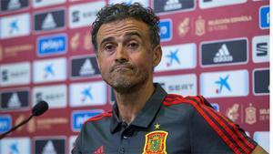 Luis Enrique evita hablar de Jordi Alba